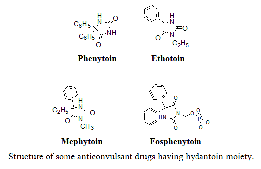 Study of Some Hyndantion Derivatives as Anticonvulsant Agents