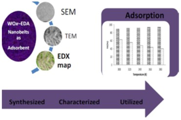 Sorptive chelation of metals by inorganic functionalized organic WOx–EDA nanowires: adsorbent characterization and isotherm studies